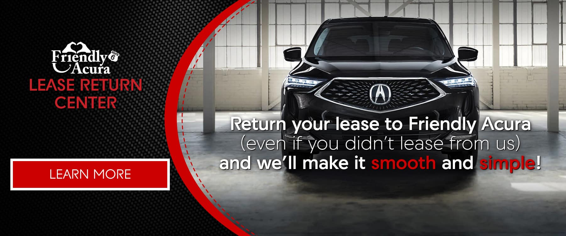 Acura Lease Return Center | Friendly Acura of Middletown