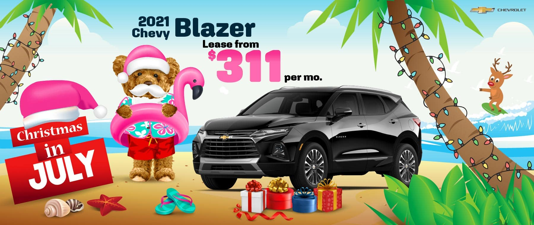 2021 Chevy Blazer - lease from $311 per month