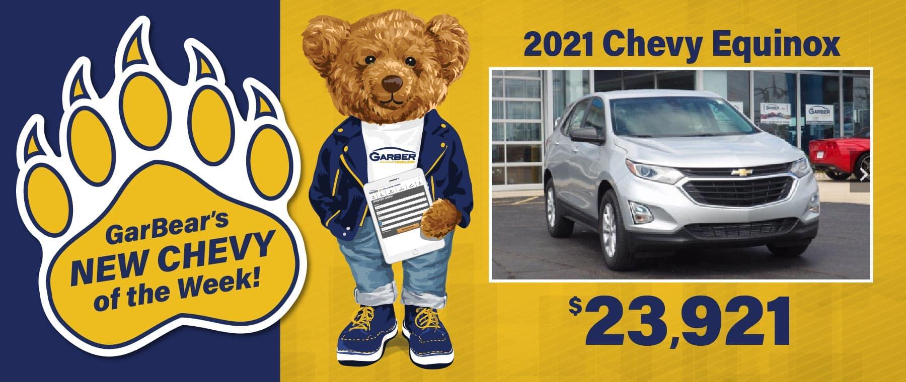 2021 Chevy Equinox $23,921