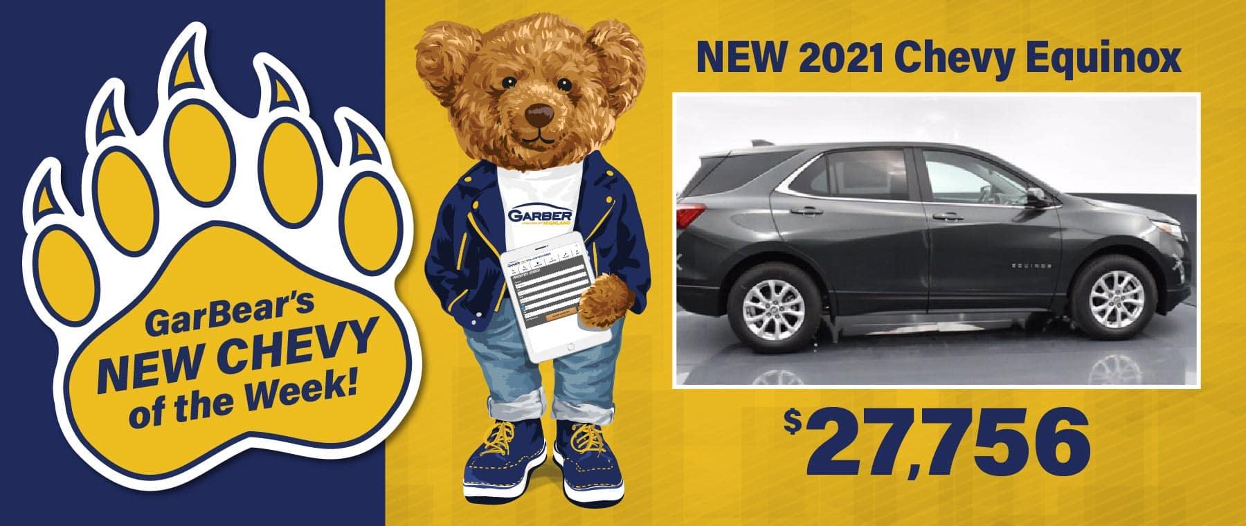 2021 Chevy Equinox $27,756
