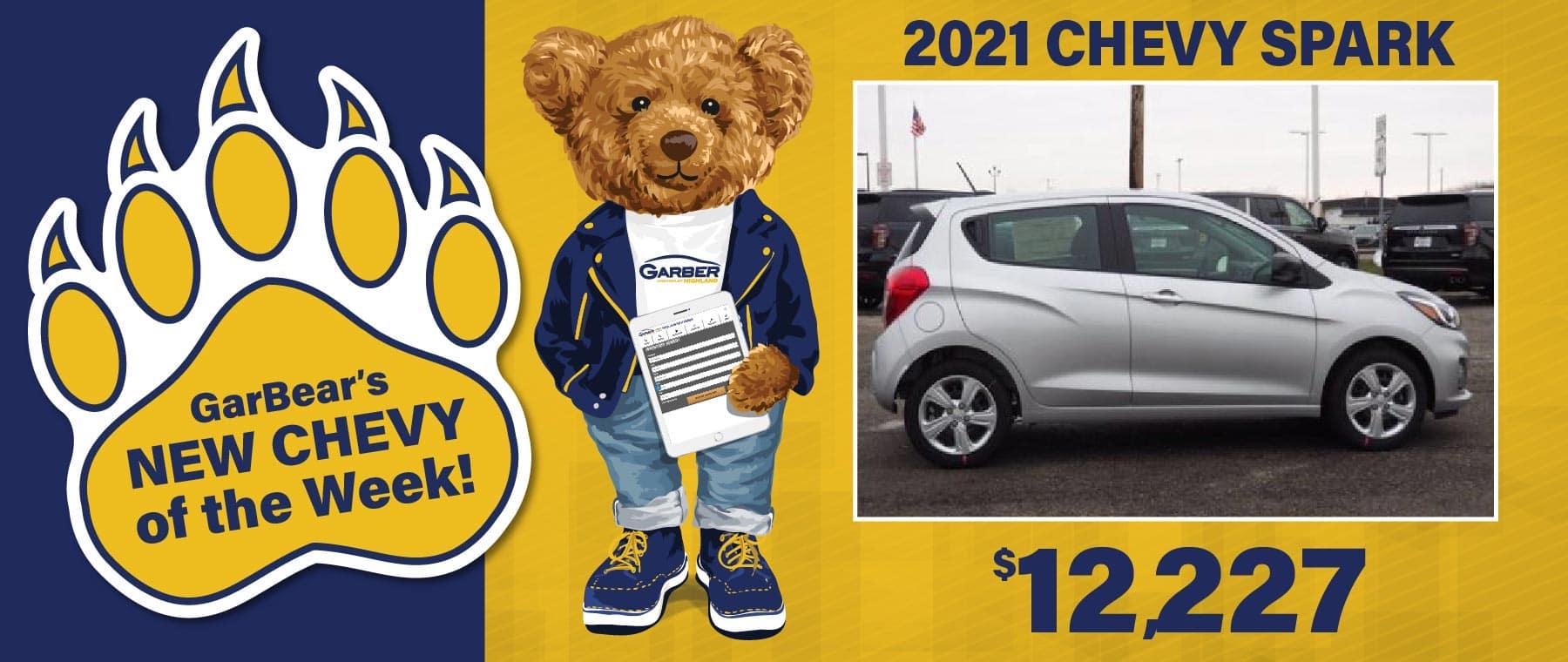 2021 Chevy Spark $12227