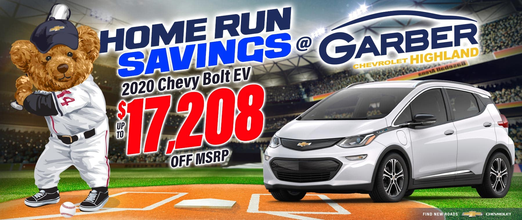 2020 Chevy Bolt - SAVE up to $17,208 off MSRP