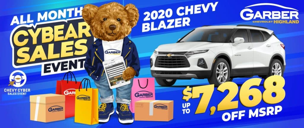 2020 Chevy Blazer - SAVE up to $7268 off MSRP