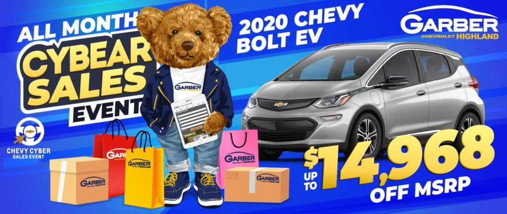 2020 Chevy Bolt EV - SAVE up to $14,968 off MSRP