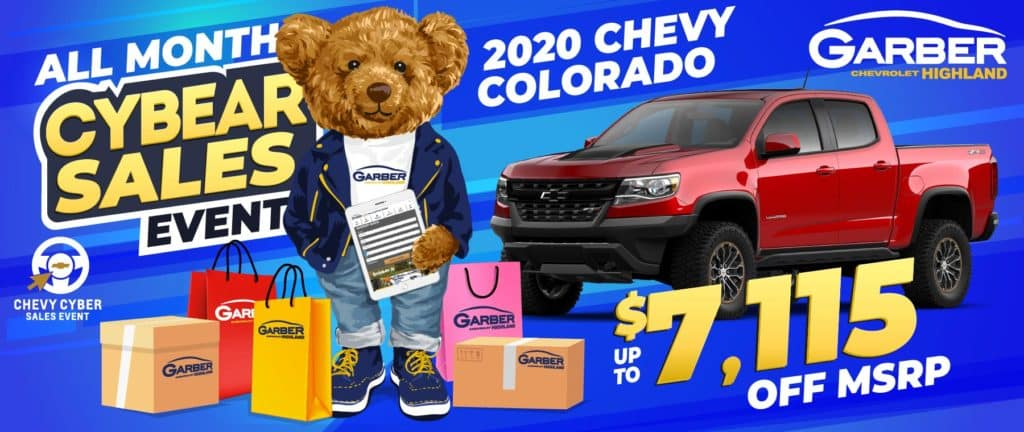 2020 Chevy Colorado - SAVE up to $7115 off MSRP