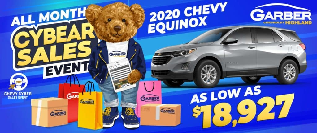 2020 Chevy Equinox - As Low As $18,927