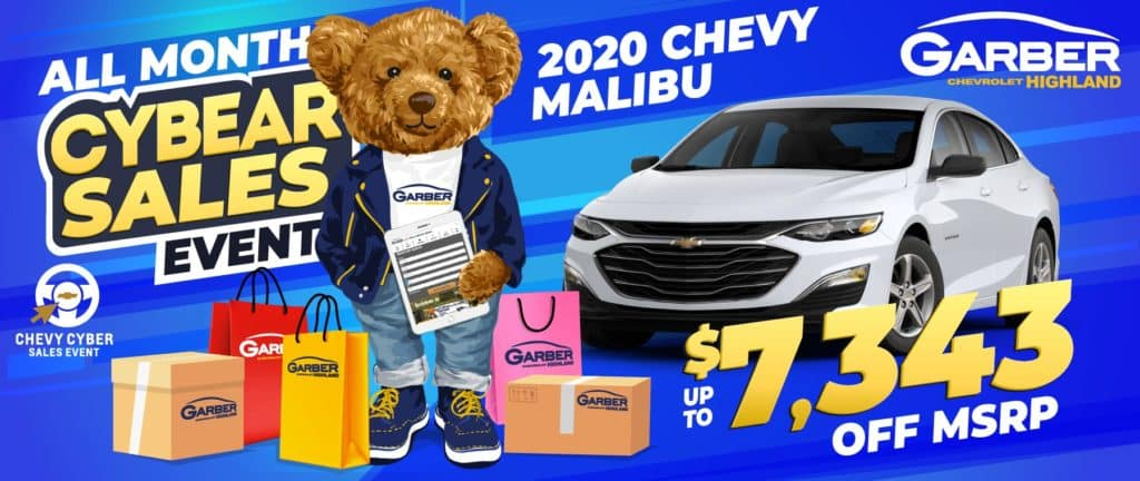 2020 Chevy Malibu - SAVE up to $7343 off MSRP