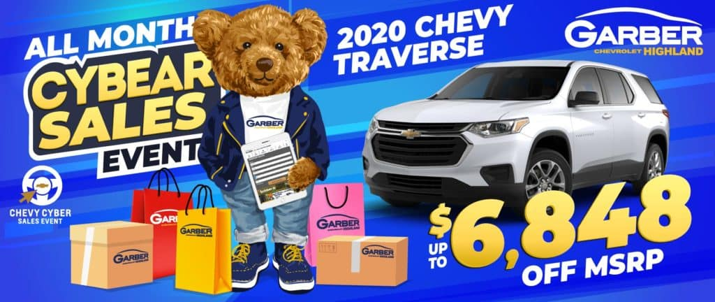 2020 Chevy Traverse - SAVE up to $6848 off MSRP