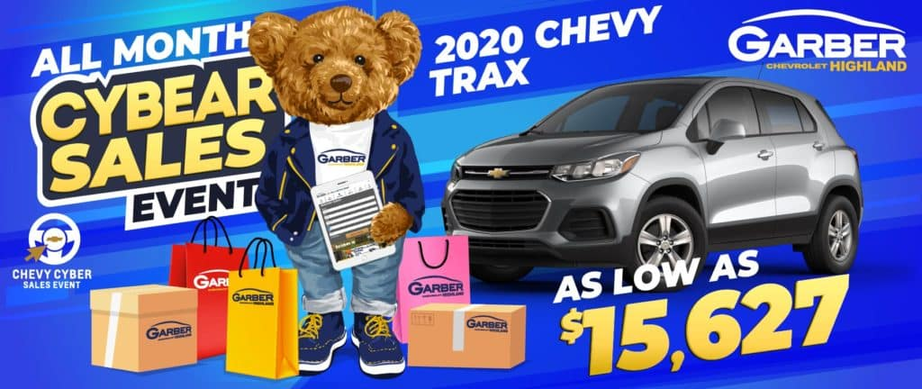 2020 Chevy Trax - As Low As $15,627