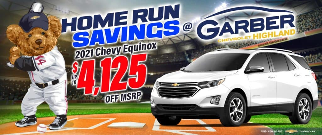 2021 Chevy Equinox - up to $4125 off MSRP