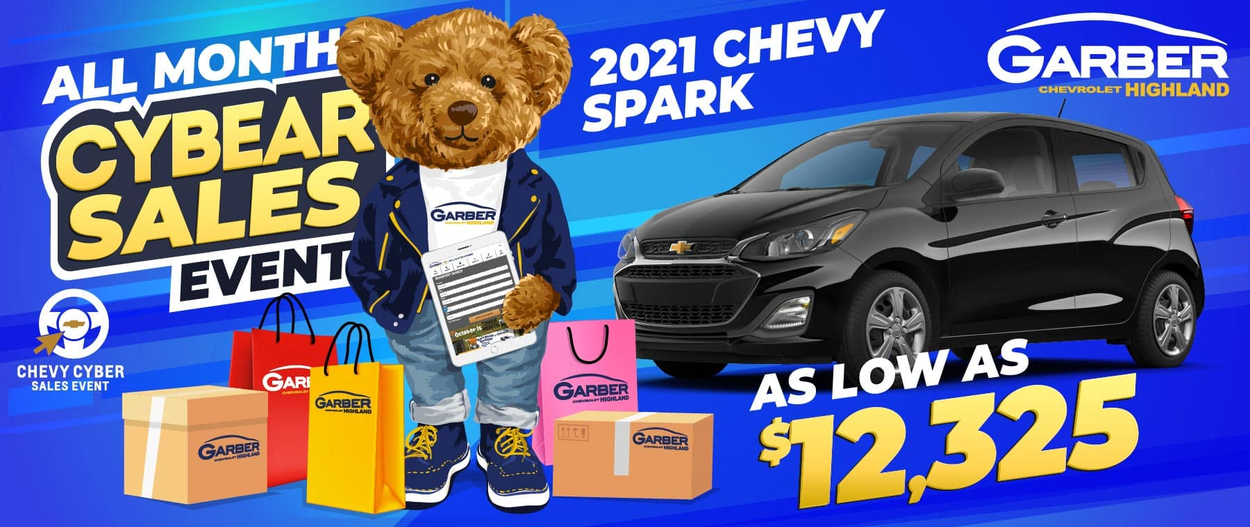 2021 Chevy Spark - SAVE up to $12,325