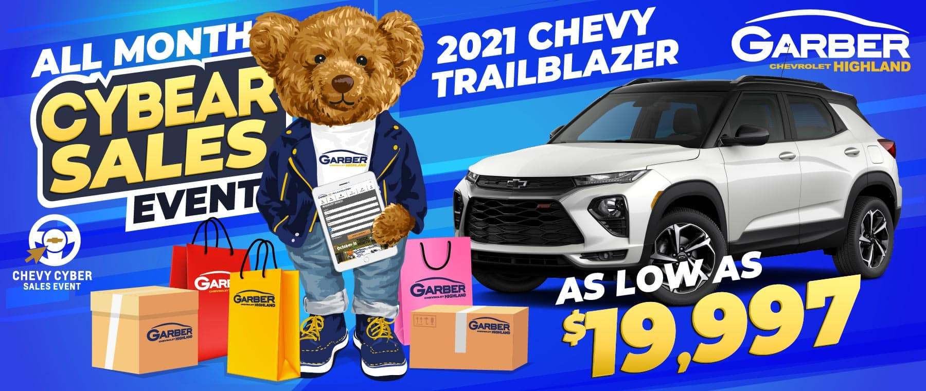 2021 Chevy Trailblazer - As Low As $19,997