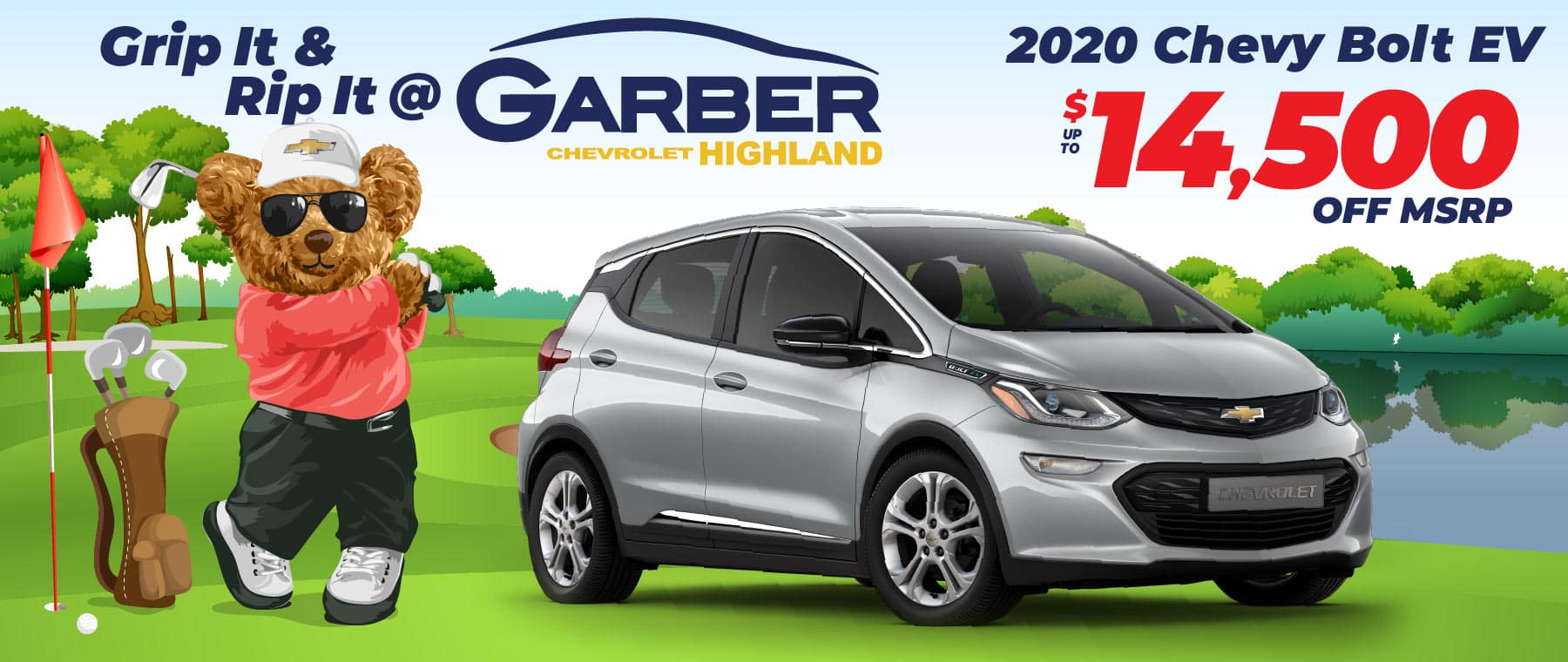 2020 Chevy Bolt - up to $14,500 off MSRP