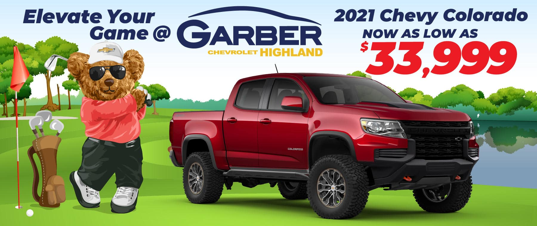 2021 Chevy Colorado - now as low as $33,999