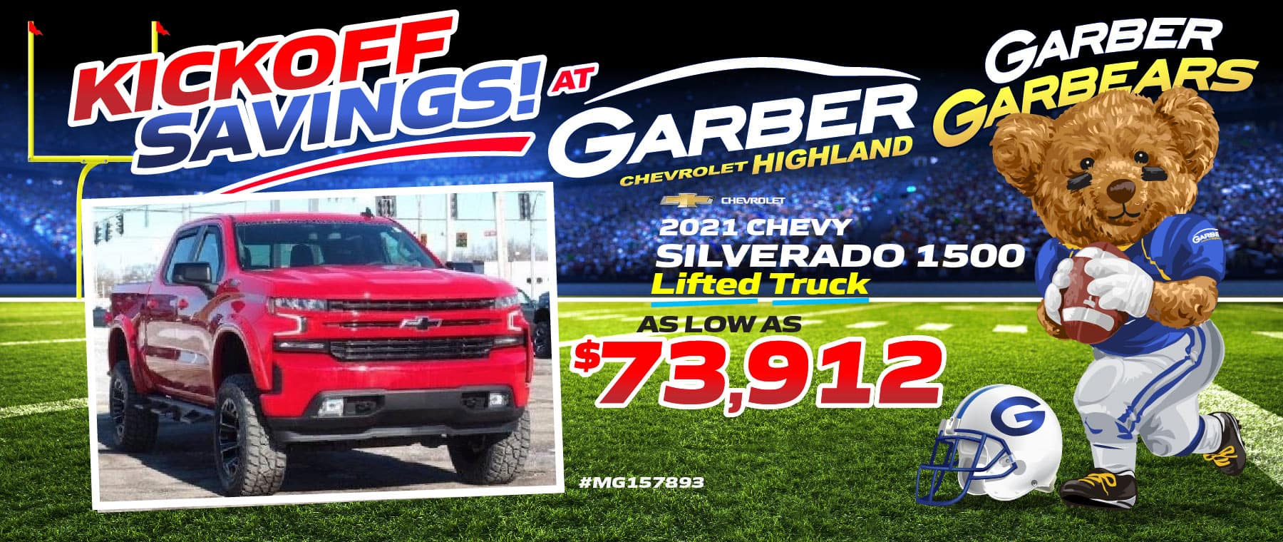 2021 Chevy Silverado - Lifted Truck - as low as $73912