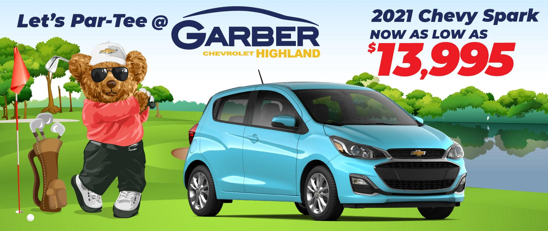 2021 Chevy Spark - now as low as $13,995