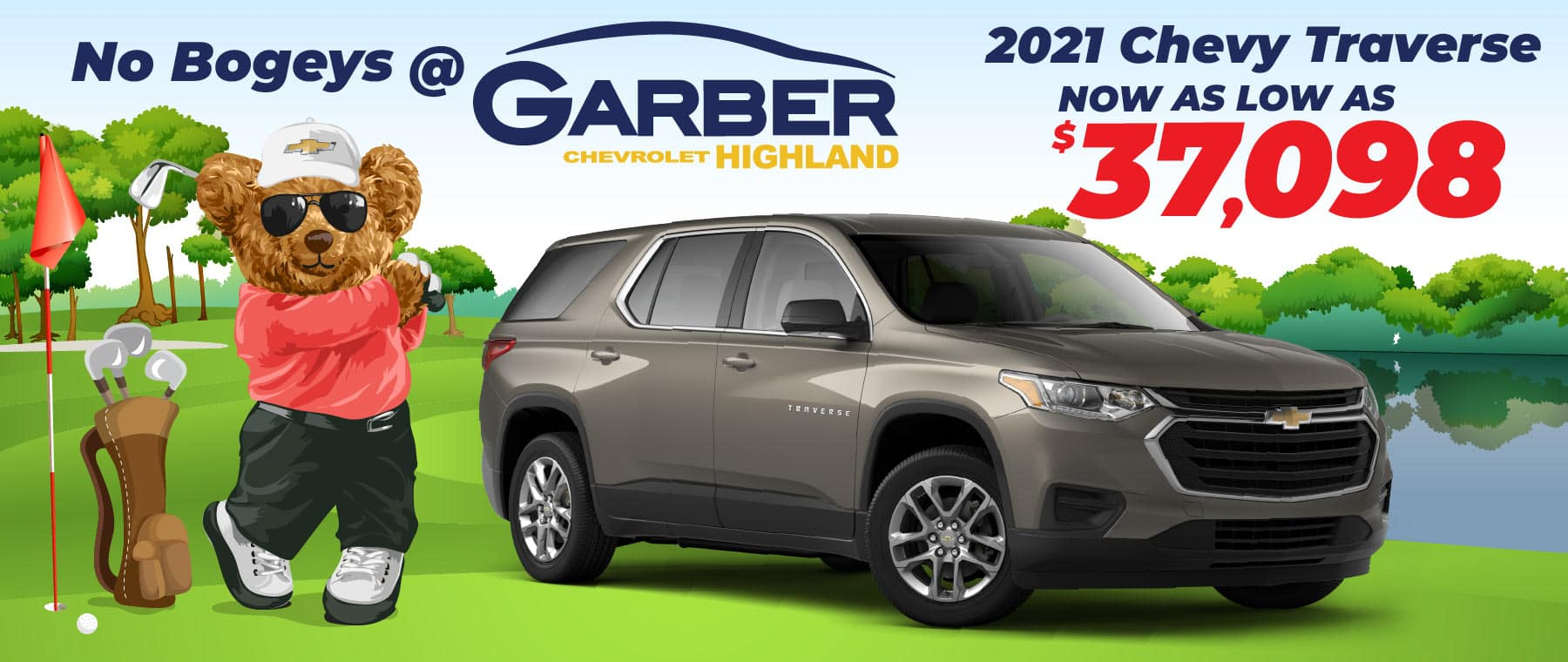 2021 Chevy Traverse - Now as low as $37,098