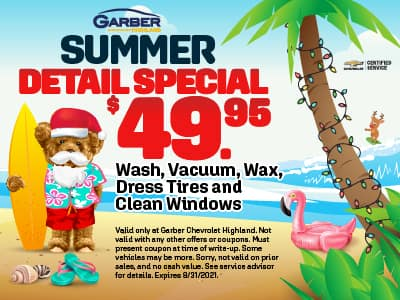 Summer Detail Special $49.95
