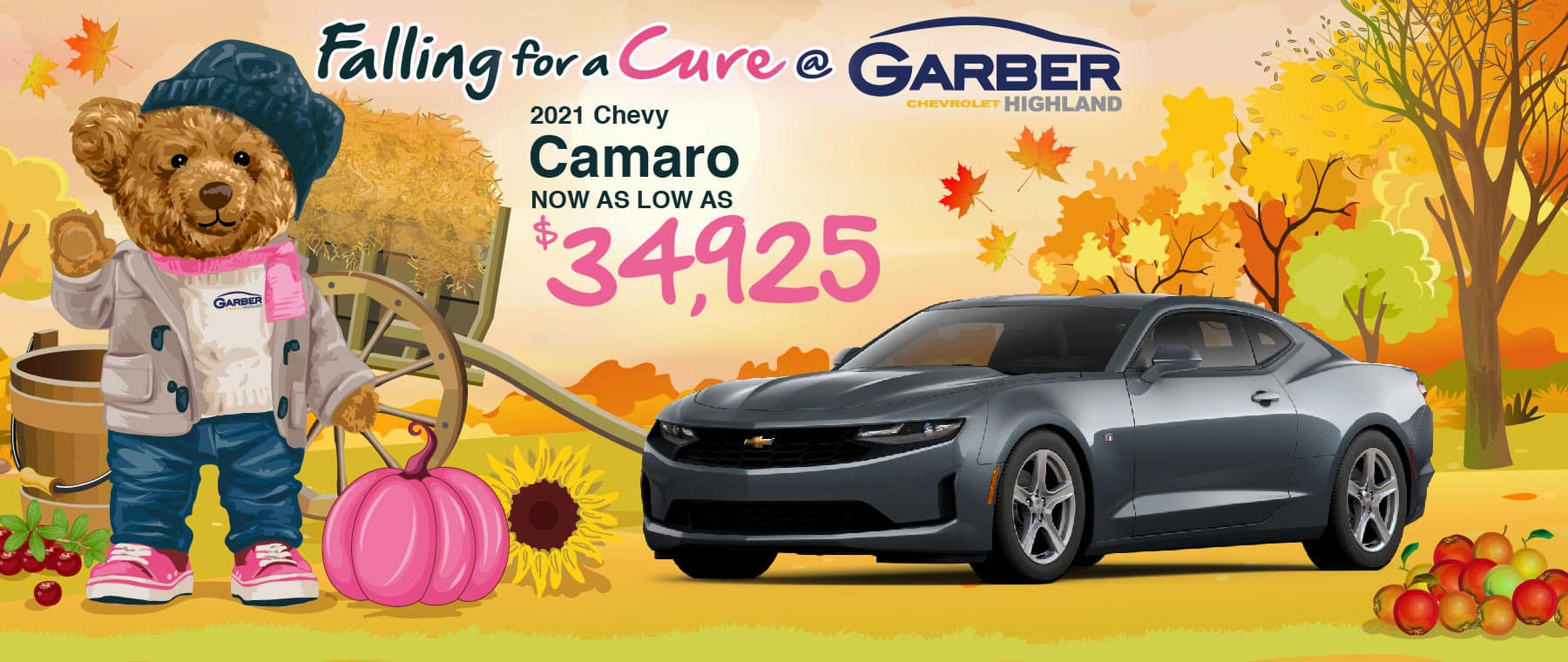 2021 Chevy Camaro - as low as $41450