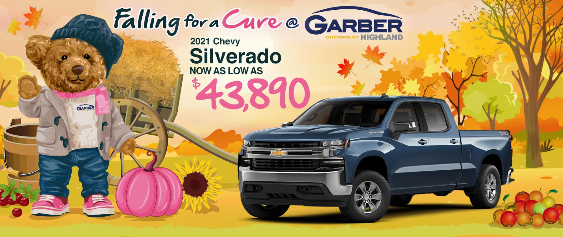 2021 Chevy Silverado as low as $43,890