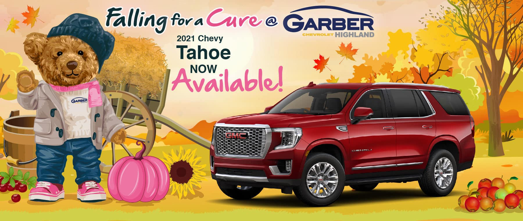 2021 Chevy Tahoe - now available!