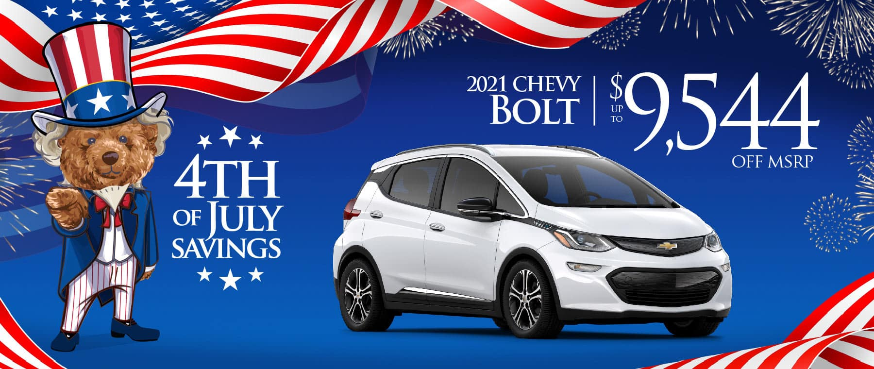 2020 Chevy Bolt - save up to $13,500