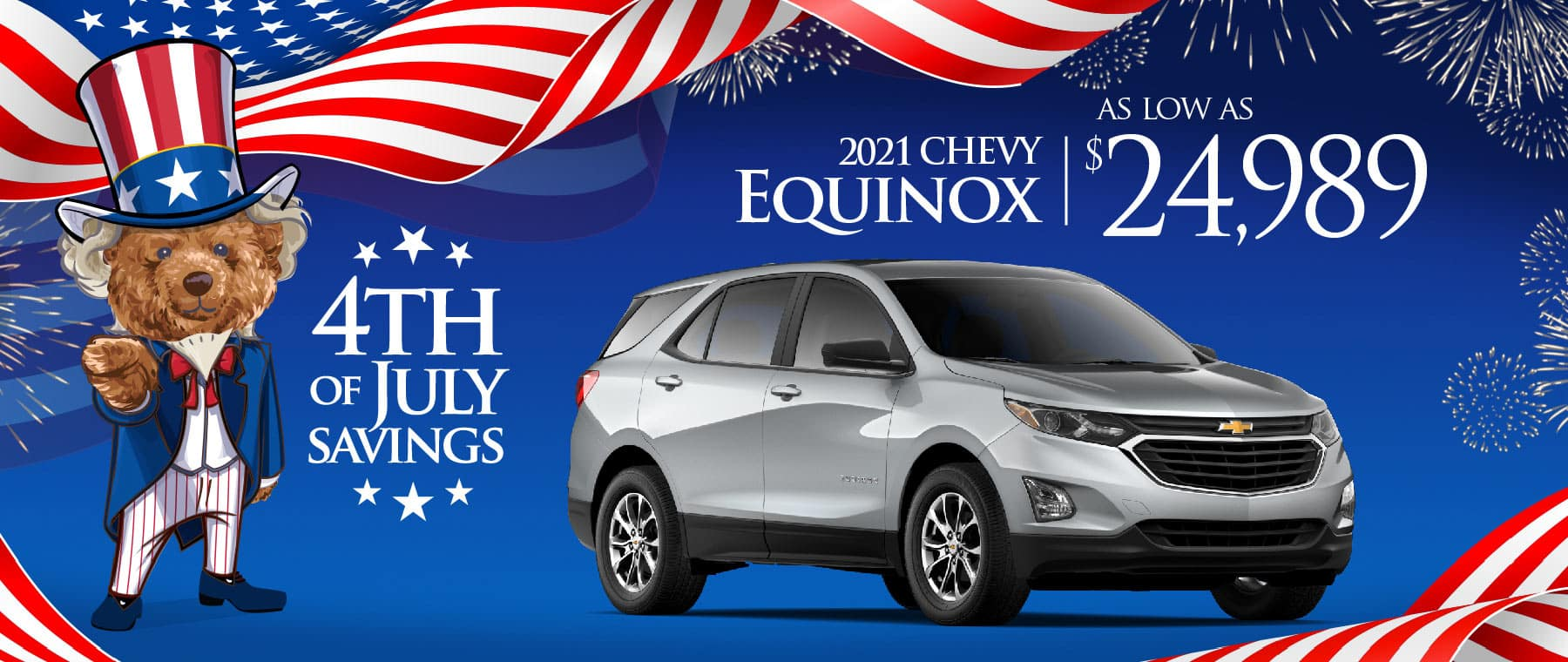 2021 Chevy Equinox - save up to $4227
