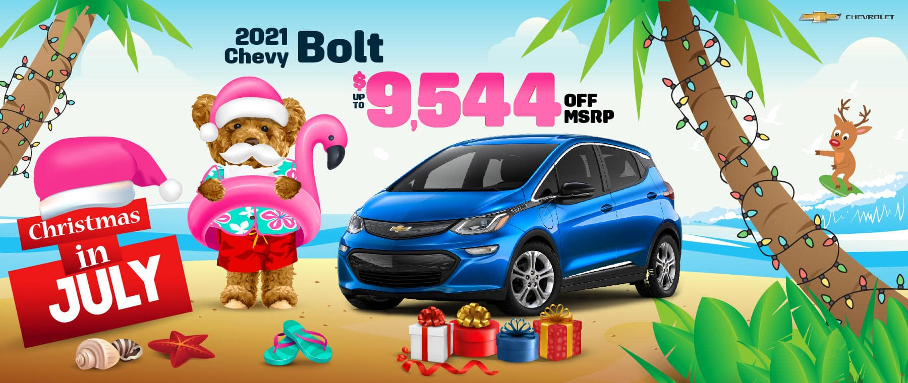 2021 Chevy Bolt EV - up to $9544 off MSRP