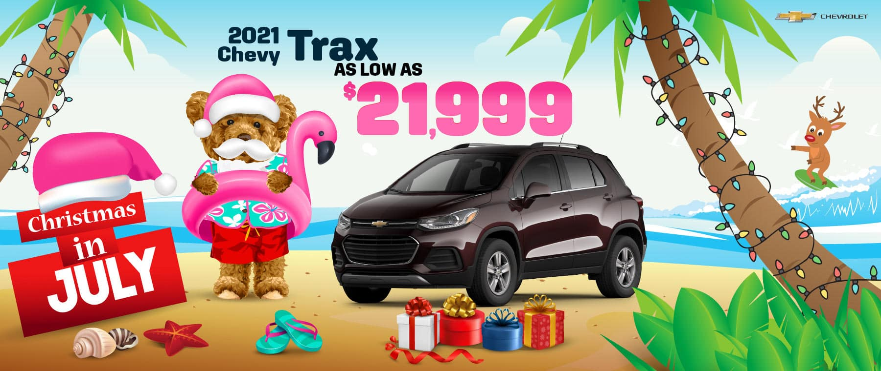 2021 Chevy Trax - as low as $21,999