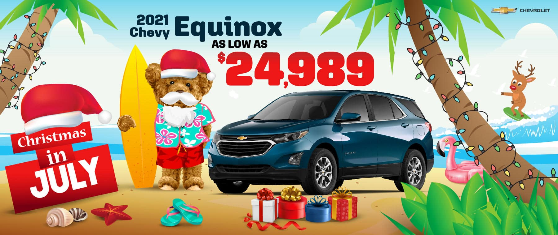 2021 Chevy Equinox - as low as $24,989