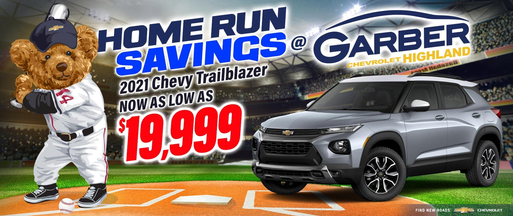 2021 Chevy Trailblazer - now as low as $19,999