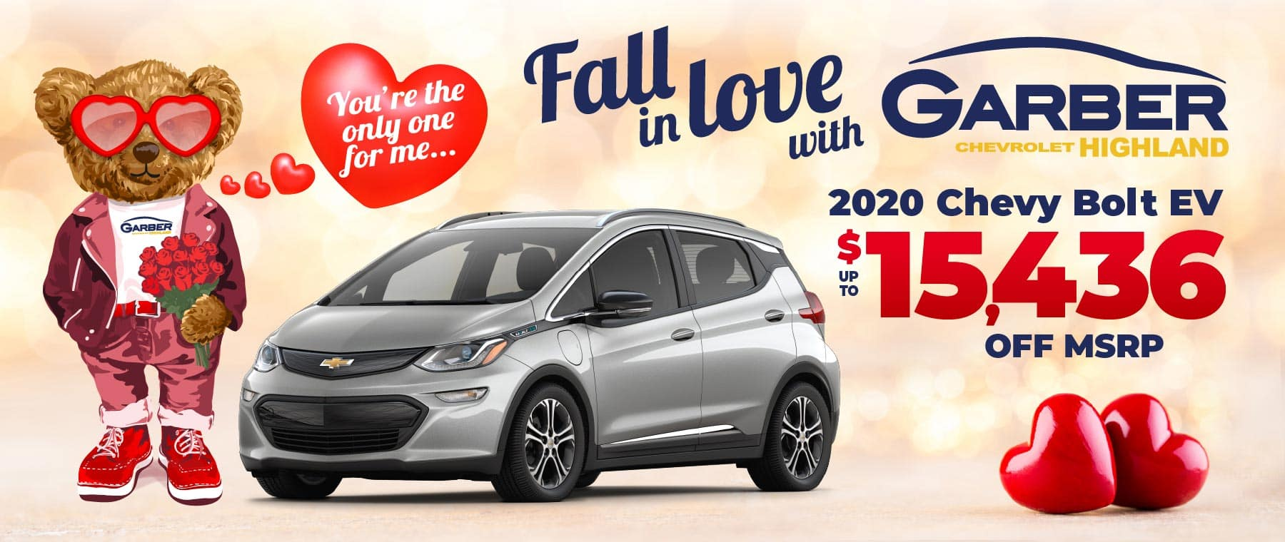 2020 Chevy Bolt - up to $15,436 off MSRP