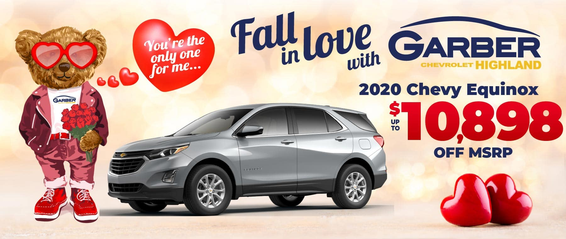 2020 Chevy Equinox - up to $10,898 off MSRP