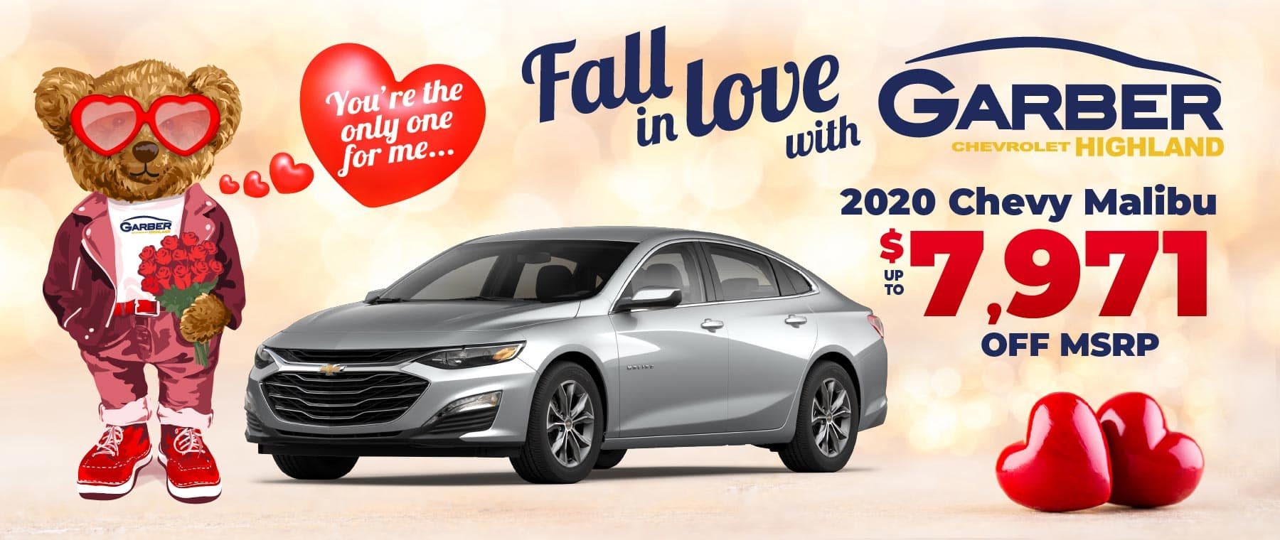 2020 Chevy Malibu - up to $7971 off MSRP