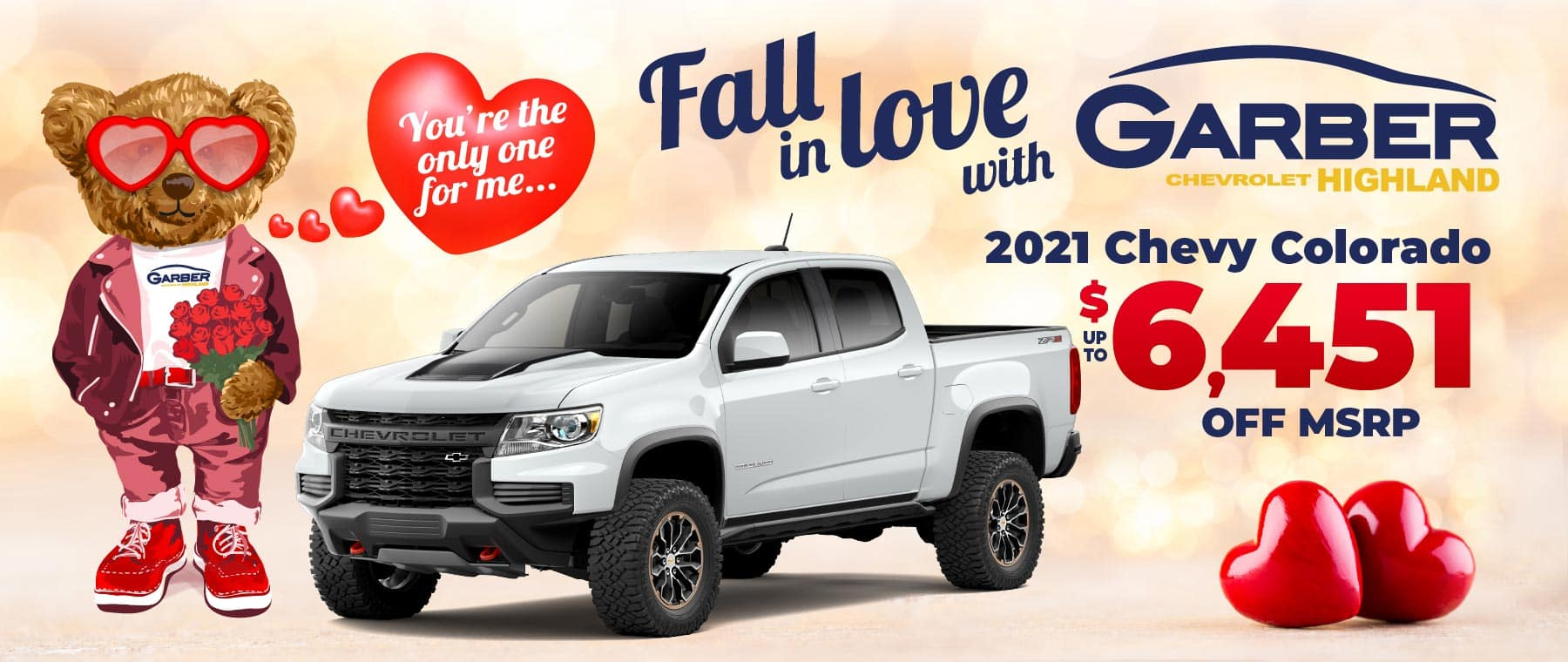 2021 Chevy Colorado - up to $6451 off MSRP