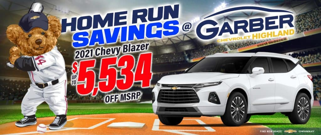 2021 Chevy Blazer - up to $5534 off MSRP