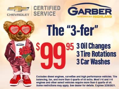 """The """"3-fer"""" $99.95"""