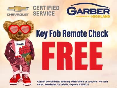 Key Fob Remote Check - FREE