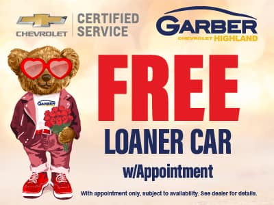 FREE Loaner Car with Appointment