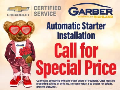 Automatic Starter Installation - Call for Special Price