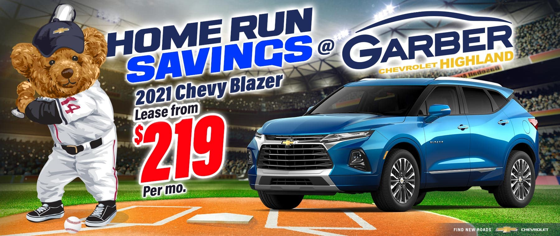 2021 Chevy Blazer - Lease From $219 per month