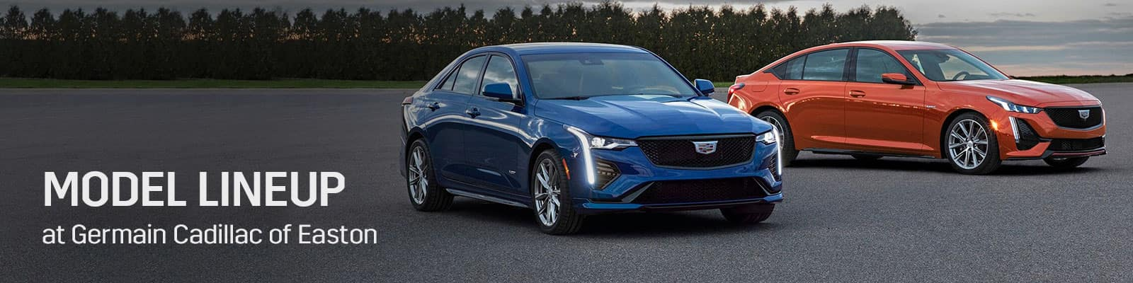 New Cadillac Car and SUV Model Lineup