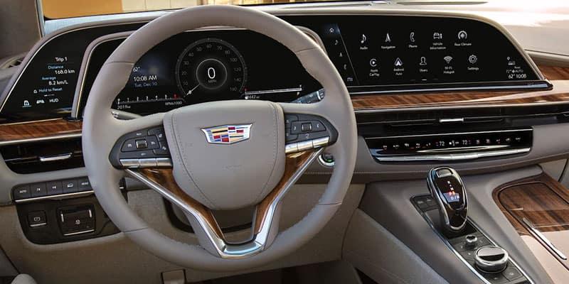 Cadillac Escalade OLED Display