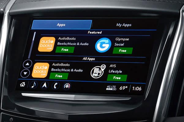 Cadillac User Experience Smartphone Compatibility