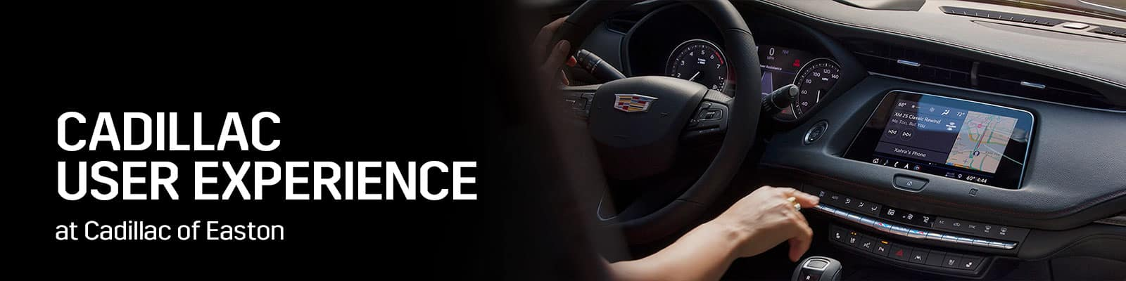 Cadillac User Experience Overview - Germain Cadillac of Easton