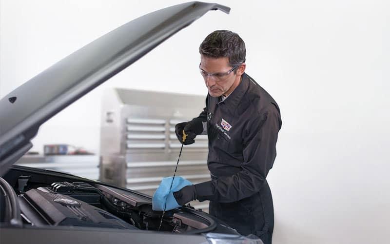 Cadillac Oil Change Technician