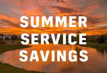 Summer Service Special