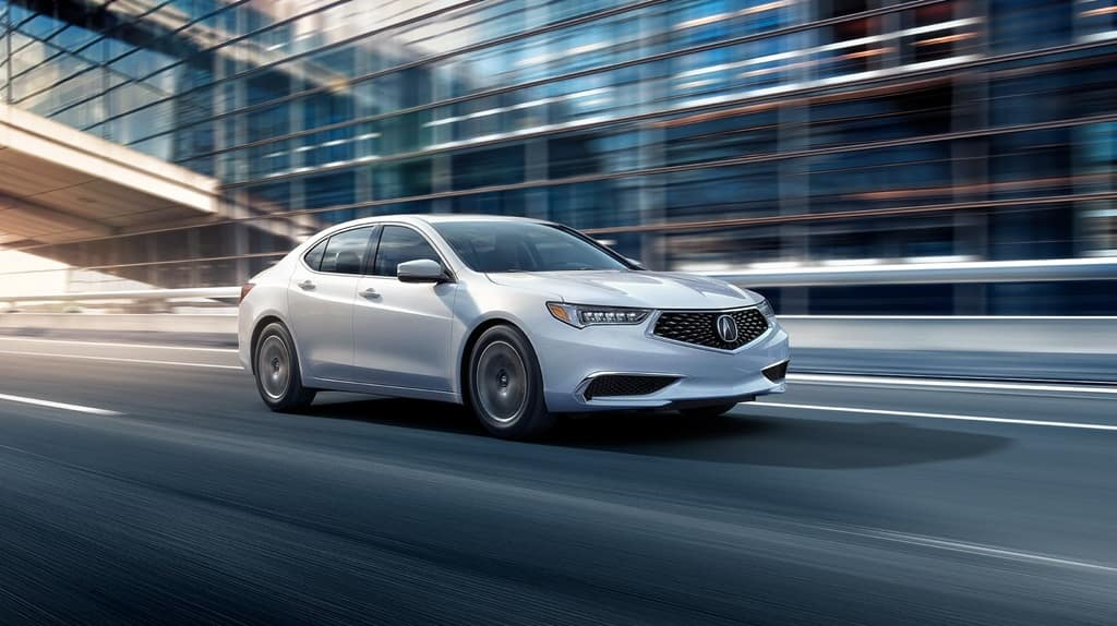 2018 Acura TLX Driving