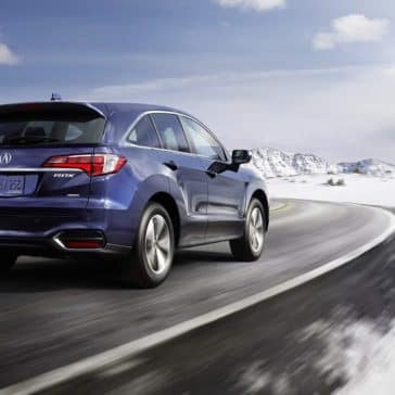 2018 Acura RDX Rear view Driving
