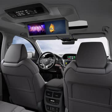 2018 Acura MDX Advance Entertainment package Rear Video Screens